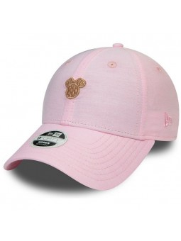 Gorra de mujer Minnie MOUSE 9FORTY New Era de color rosa