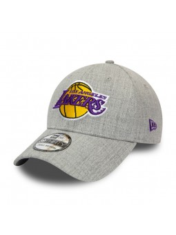 Gorra Los Angeles LAKERS NBA Heather 39THIRTY New Era gris
