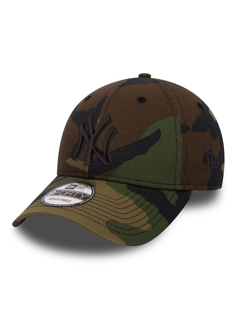 New York YANKEES League Essential MLB 9FORTY New Era camouflage cap