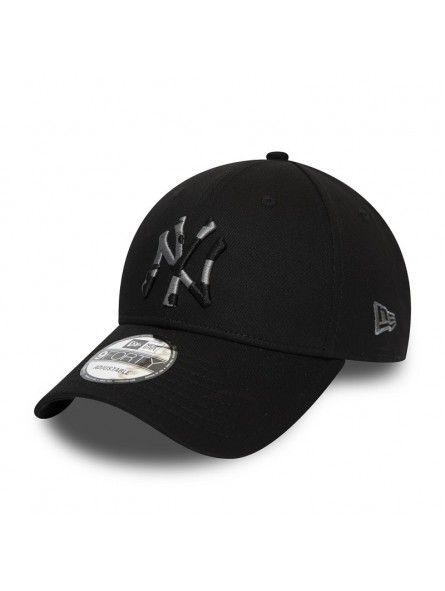 New York Yankees Mlb Camo Infill 9forty New Era Black Cap