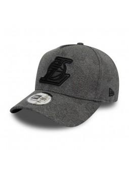 Los Angeles LAKERS NBA Engineered Aframe New Era grey cap