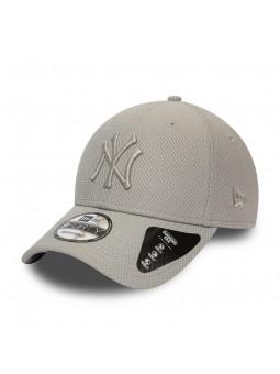 New York YANKEES MLB diamond 9FORTY New Era dark grey Cap