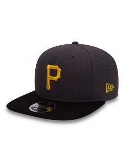 Gorra Pittsburgh PIRATES MLB Diamond Pop 9FIFTY new era gris oscuro