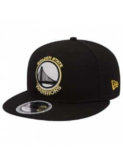 Golden State WARRIORS NBA Team Gitd New Era snapback black cap