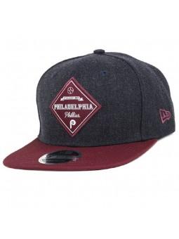 New York Highlanders MLB Heather Coop Patch 9FIFTY New Era black cap