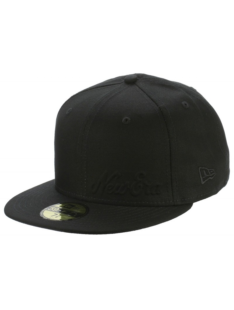 /Black on Black New Era 59/fiftys Casquette/ /NY Yankees/