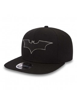 BATMAN Blacked Out New Era snapback 9FIFTY black cap