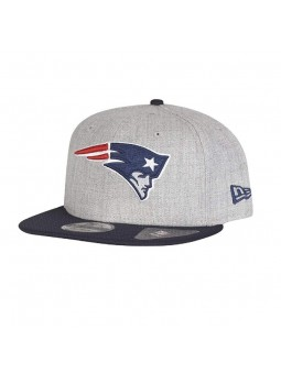 New England PATRIOTS NFL Team Heather 9FIFTY grey/navy cap