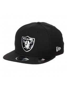 Gorra Oakland RAIDERS NFL Logo Shine 9FIFTY negro