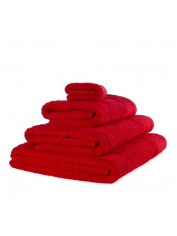 Towels GOLD red colour