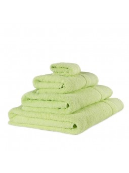 Towels GOLD light green colour