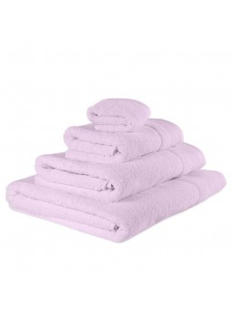 Towels GOLD light pink colour