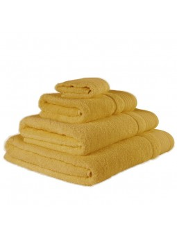 Towels GOLD yellow colour