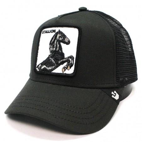 Goorin Bros Cock Rooster trucker navy cap