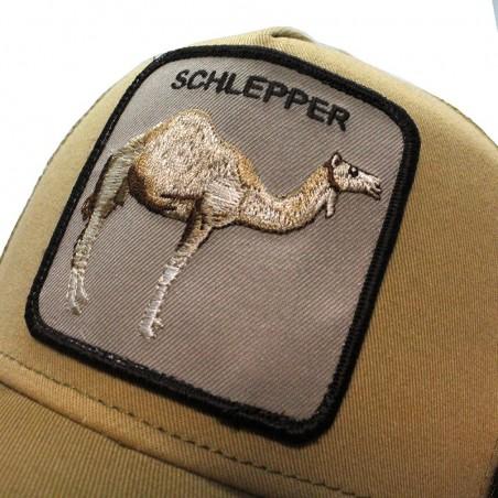 Goorin Bros Schlepper Camel trucker camel cap