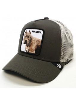 Goorin Bros PITBULL dark grey trucker cap