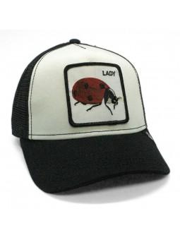 Gorra Mariquita Lady Bug Goorin Bros   Gorras con Insectos Graciosos