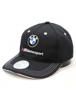 Gorra BMW Motorsport Puma negro