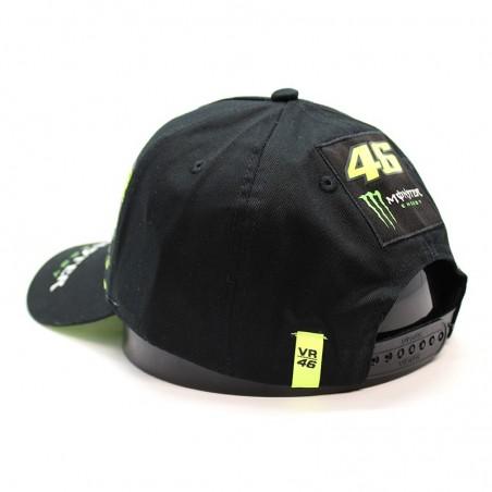 Valentino ROSSI Monster Energy black cap