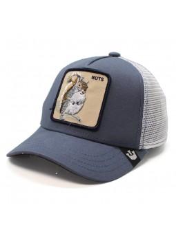 Gorra Goorin Bros Ardilla Nuts trucker azul/blanco