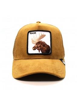 MOOSE HEAD Goorin Bros camel Cap