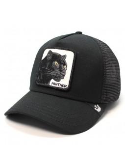 Goorin Bros BLACK PANTHER trucker black cap