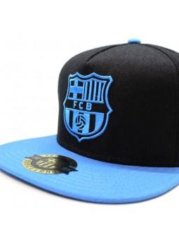 Gorra BARÇA FCB Rap negro/azul