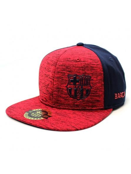 Gorra BARÇA FCB Rap Melange rojo/marino