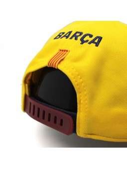 Gorra FCB BARÇA 2º equipo amarillo