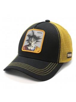 SON GOKU Dragon black/orange Trucker Cap Capslab