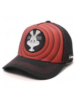 Gorra BUGS BUNNY Looney Tunes Rojo/negro capslab