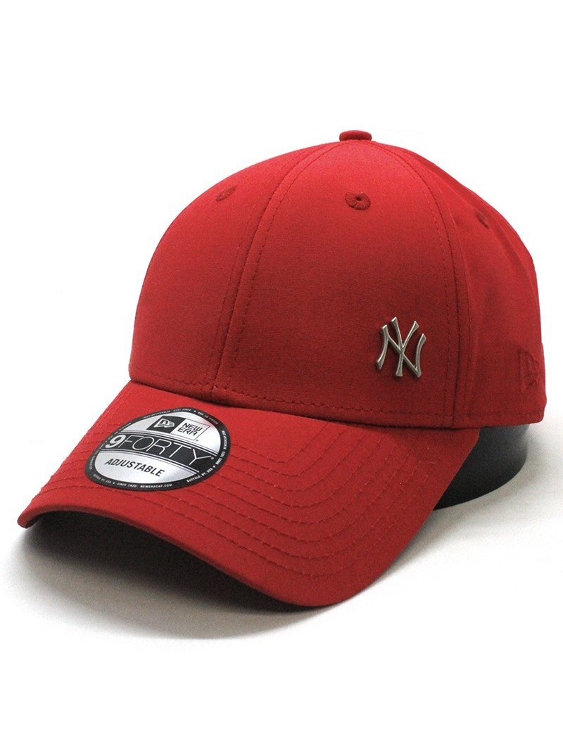 New York Yankees Flawless Logo 9forty Mlb New Era Black Cap
