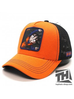 GOTEN DRAGON BALL White/Black Trucker Cap