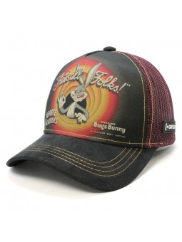 BUGS BUNNY Looney Tunes THAT'S ALL FOLKS Trucker Cap Capslab