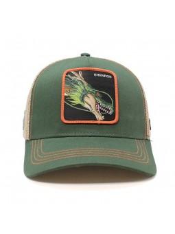 SHENRON Dragon Ball green/beige Trucker Cap Capslab