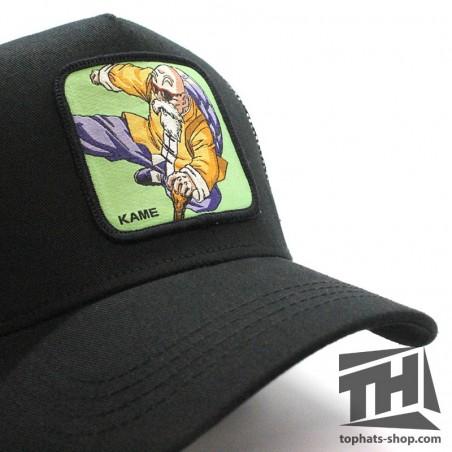 Kame Sen'nin Dragon Ball white/cardinal/black trucker Cap