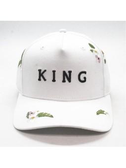 Gorra KING Stepney curved negro