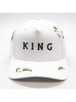KING Stepney curved black Cap