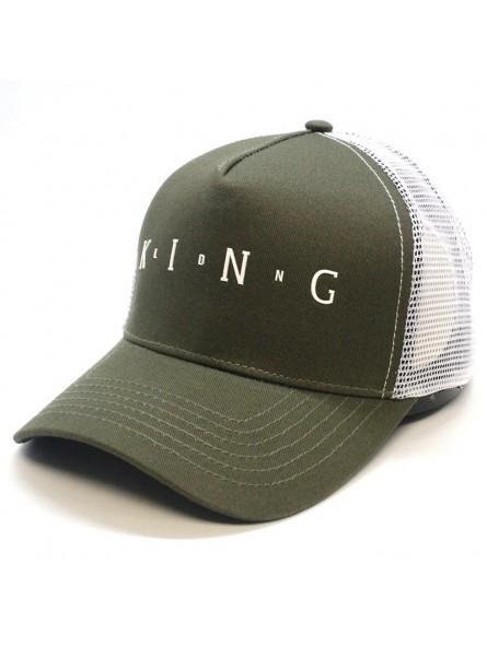 Gorra de rejilla KING Aldgate negro
