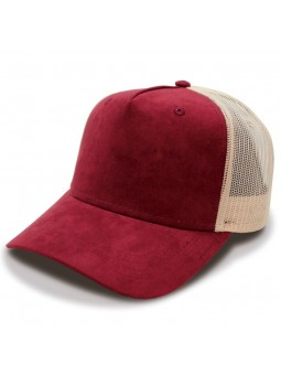 TOP HATS Fam Trucker navy burgundy Cap