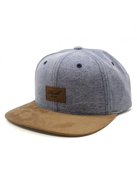 REELL Suede Snapback Cap | Street Style Caps for Skaters