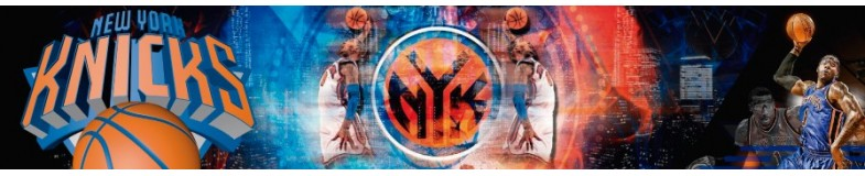 New York Knicks of the NBA in Top Hats