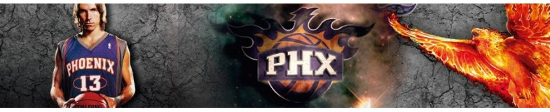 Get the caps of the Phoenix Suns of the NBA in Top Hats!