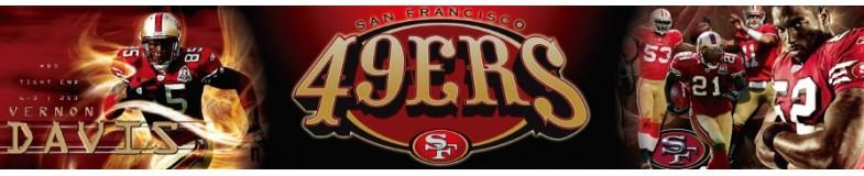 San Francisco 49ERS Caps NFL of New Era at Top Hats
