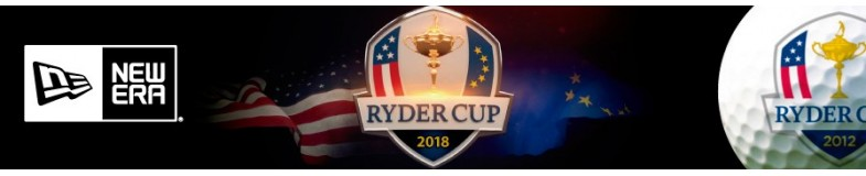 New Era Ryder Cup Golf caps |Top Hats. Free shipping in Europe for €80