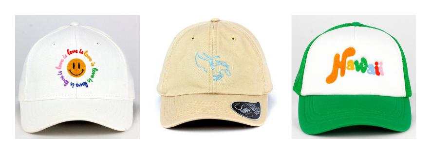 gorras de verano top hats