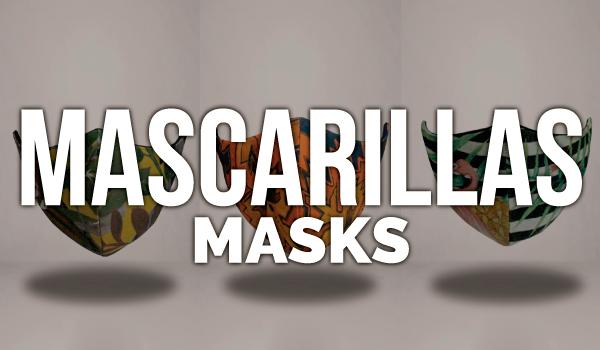 venta de mascarillas con diseños originales
