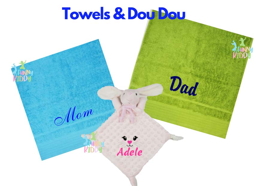 customized towels